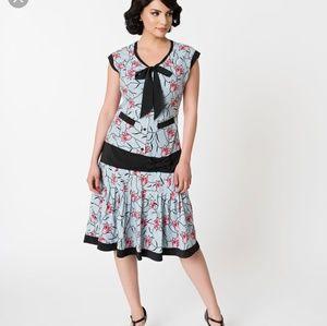 Unique Vintage Twyla Flapper Day Dress